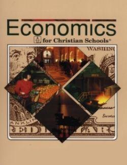 Bob Jones Economics Text Item #: BJ12048074 Bob Jones Economics Student Text 1st…