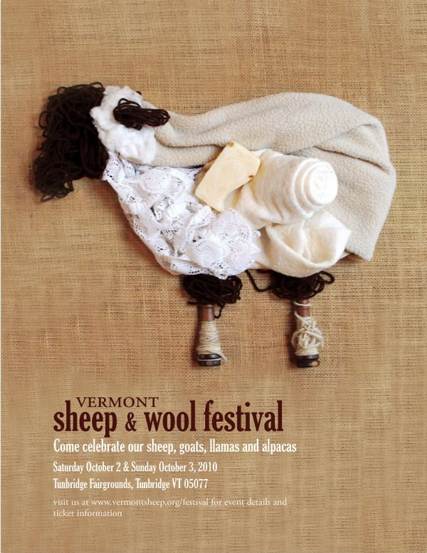 Vermont Sheep + Wool Festival Identity System by Olivia Butrick, via Behance