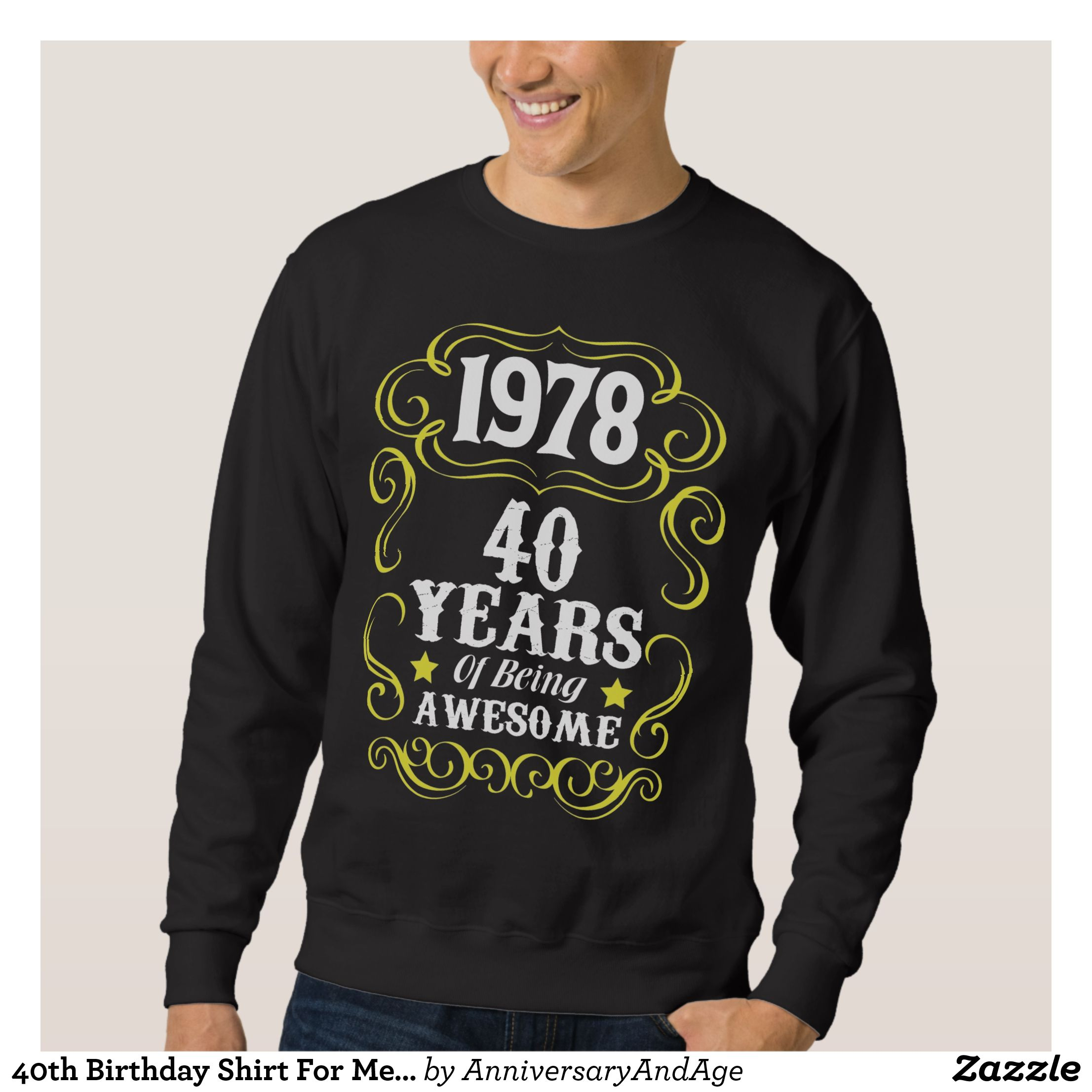 40th Birthday Shirts For Him