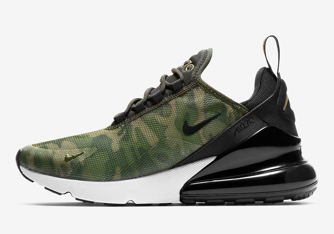 The Nike Air Max 270 Camo Is Available