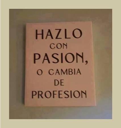 Sin pasión por lo que haces,no hay éxito empresarial y personal. @BSvehlakova @Ramon_SuarezO @Tejeda_GC @activityon