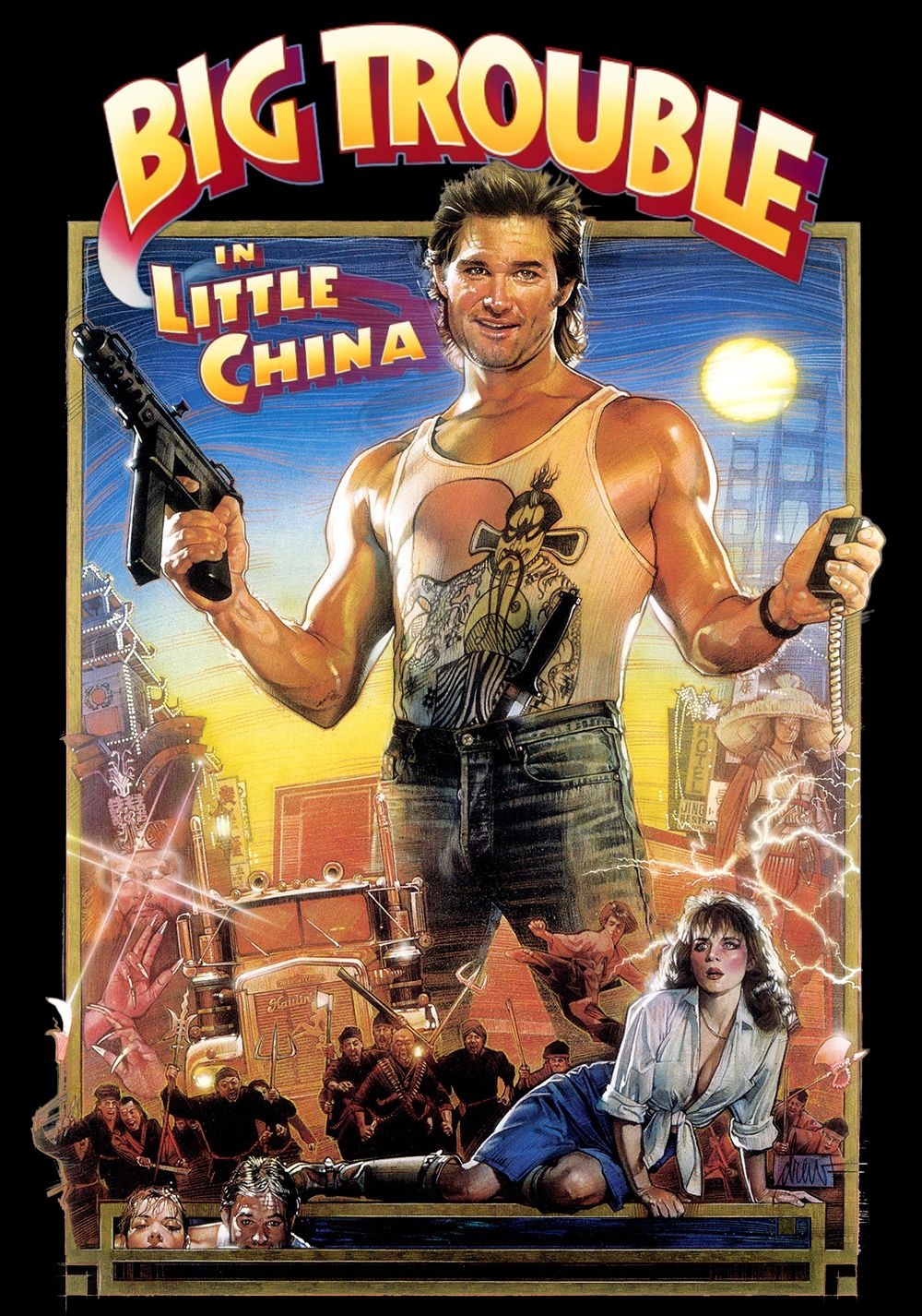 Big Trouble in Little China (1986) Movie Review Best