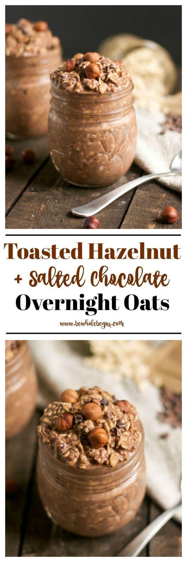 Toasted hazelnuts + oat chocolate at night,