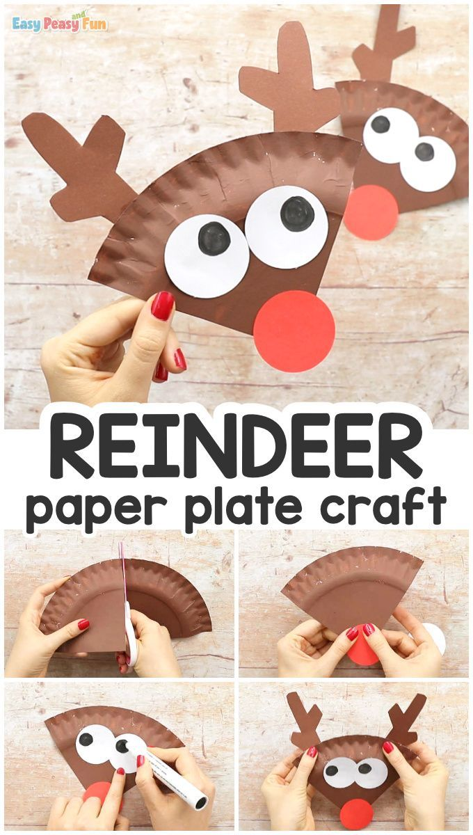 Photo of Paper Plate Reindeer Craft – Easy Peasy and Fun
