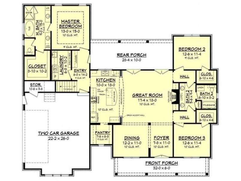 10 Best Modern Ranch House Floor Plans Design And Ideas Best Ranch House Floor Plans House Floor Plans Modular Home Floor Plans
