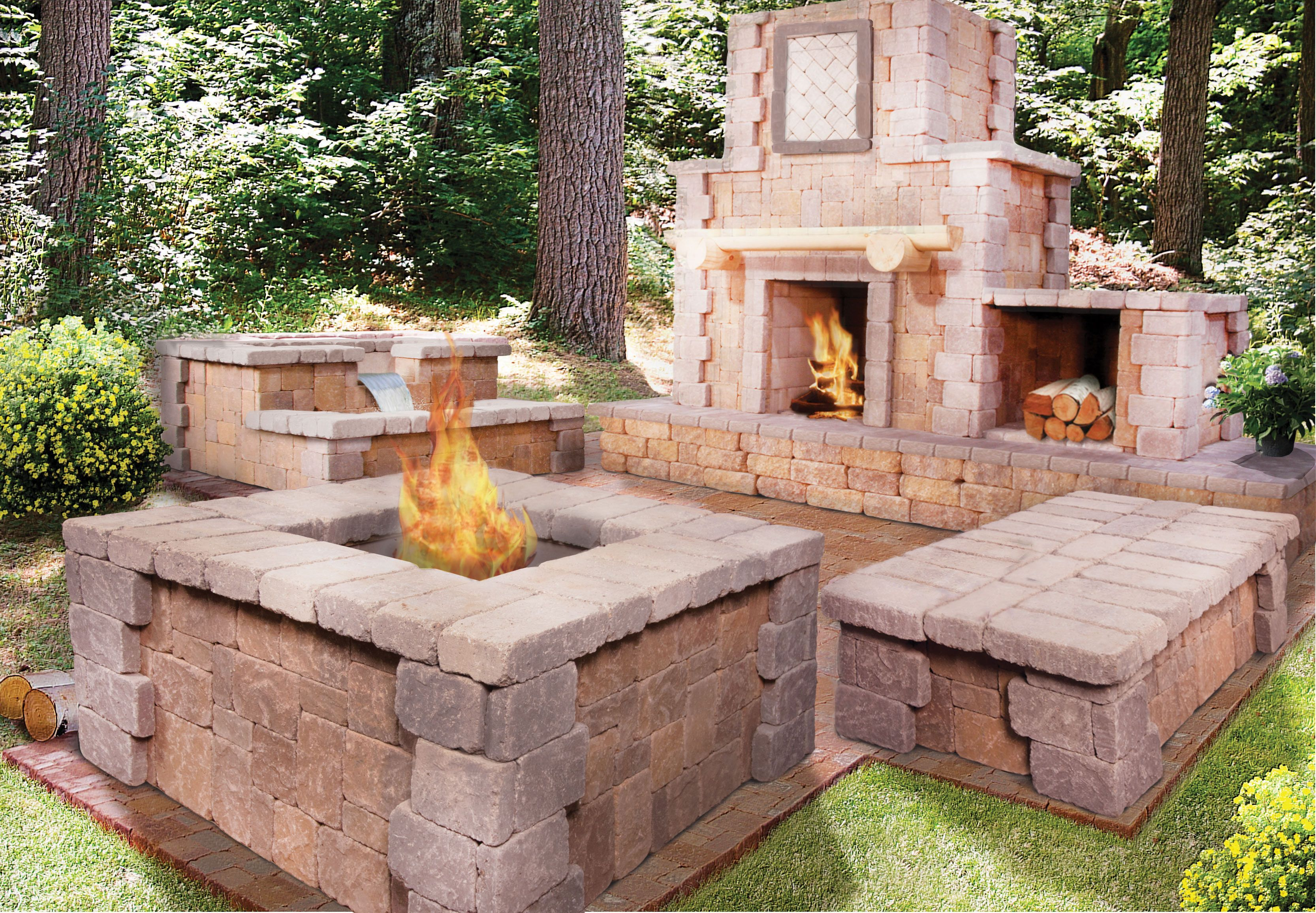 The Cantwell Fireplace will make a bold and elegant
