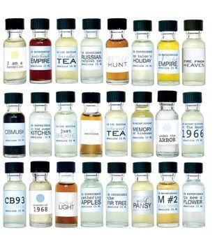 Esencias para perfumes