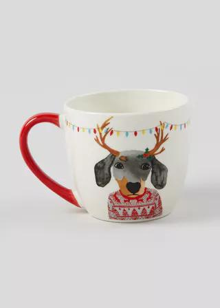 Crockery Dinner Sets Plain Printed Designs Matalan Christmas Mugs Mugs Christmas