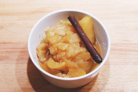Winterliches Eifel-Rezept: Apfelkompott mit Zimt undVanille