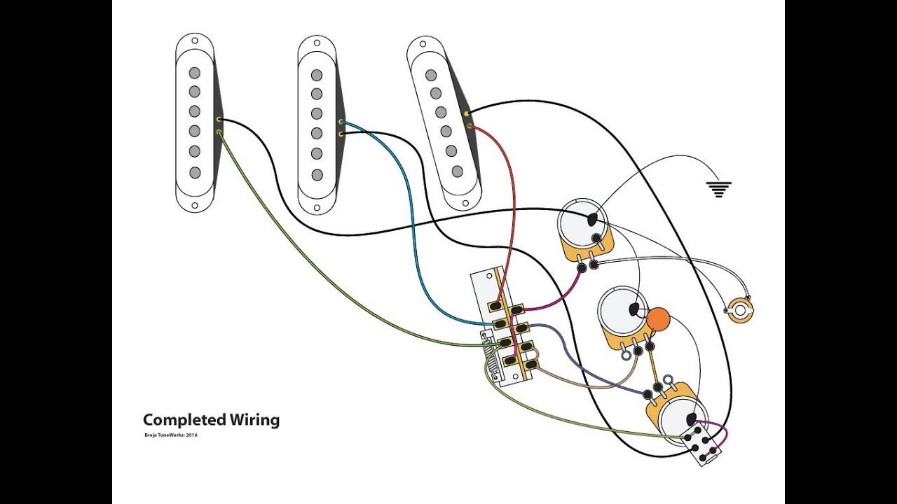 Series Parallel Stratocaster Wiring Mod Series Parallel Mod Wire