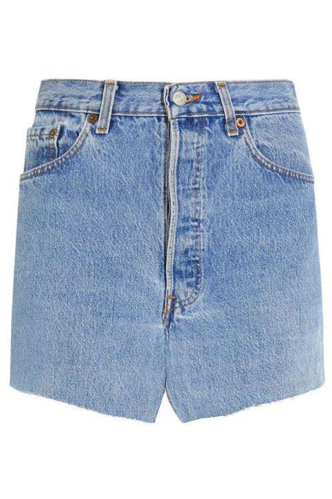 Vetements Denim Mini Skirt, $1,160; net-a-porter.com