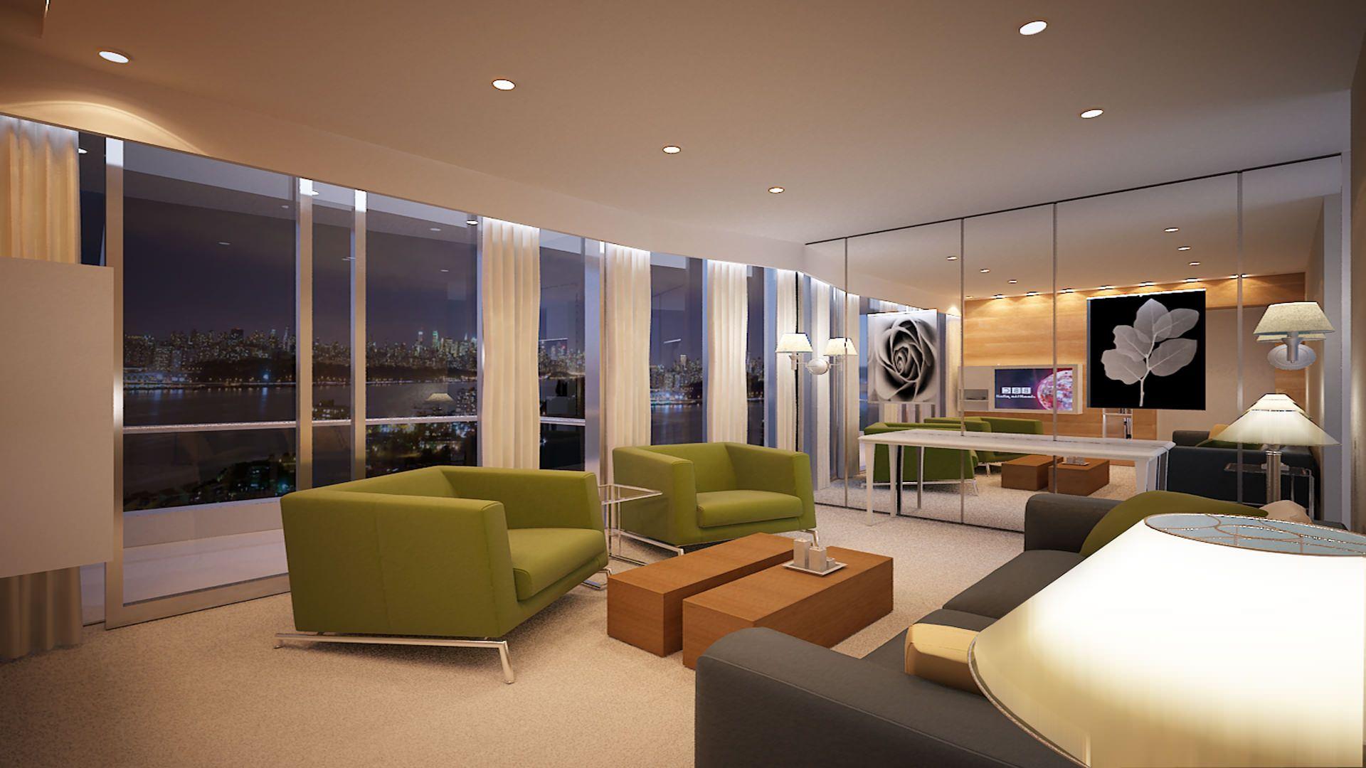 Swiss Bureau Interior Design Designed Apartment Downtown