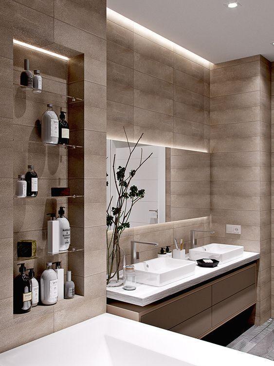 Photo of 60+ Moderne Badezimmer-Design-Ideen, zum sich zu inspirieren #hausdekoration