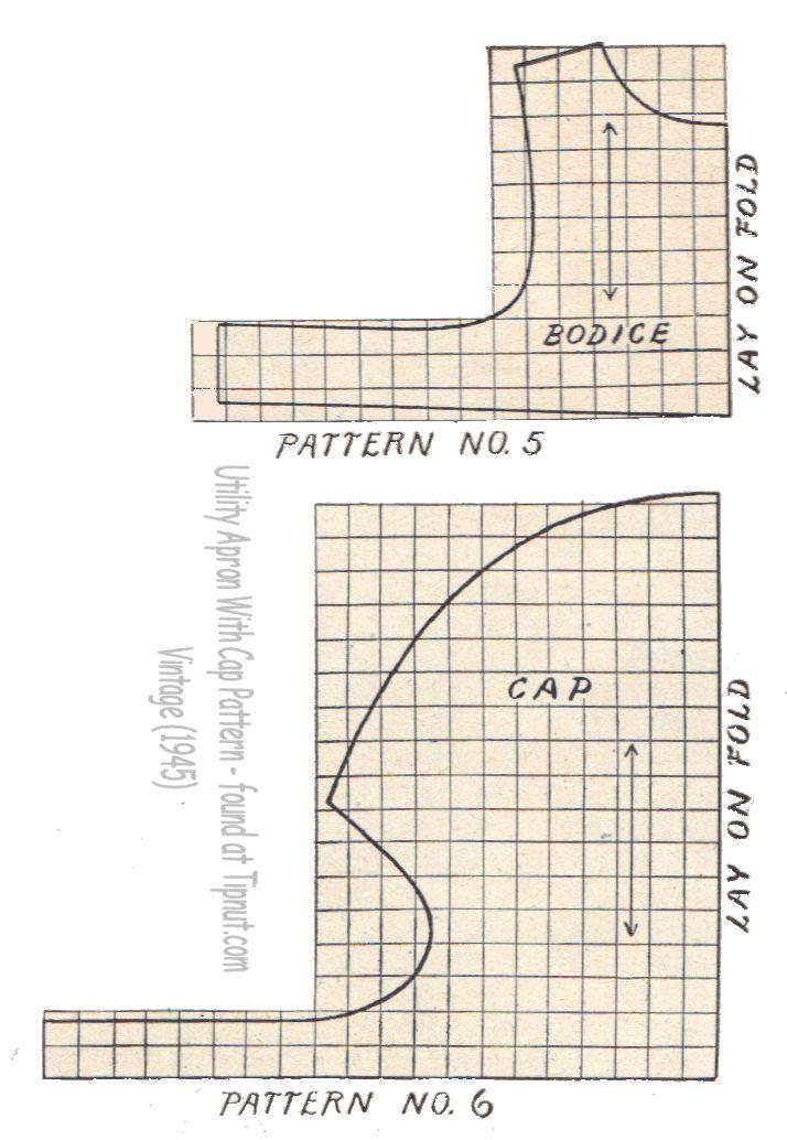 Free Girls Pinafore Apron Pattern | Schürzen | Pinterest | Schürze ...