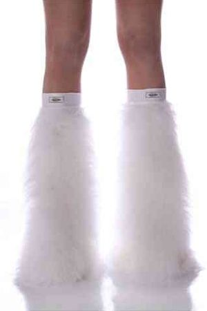 Made From Extra Fluffy Premium Vibrant Monster Fur with Super Stretchy Lycra Under Knee Band. The stretchy band made from Genuine Italian lycra provides comfort during wear & helps to ensure your legwarmers stay put all night. Our lycra band has advance bounce back technology so your legwarmers n...