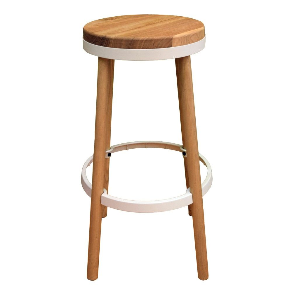 White Oslo Counter Stool - For The Love Of Stools - T&W Unbranded ...