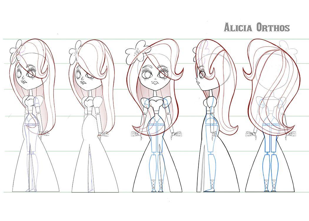 Character Design - Alison Donato's Portfolio