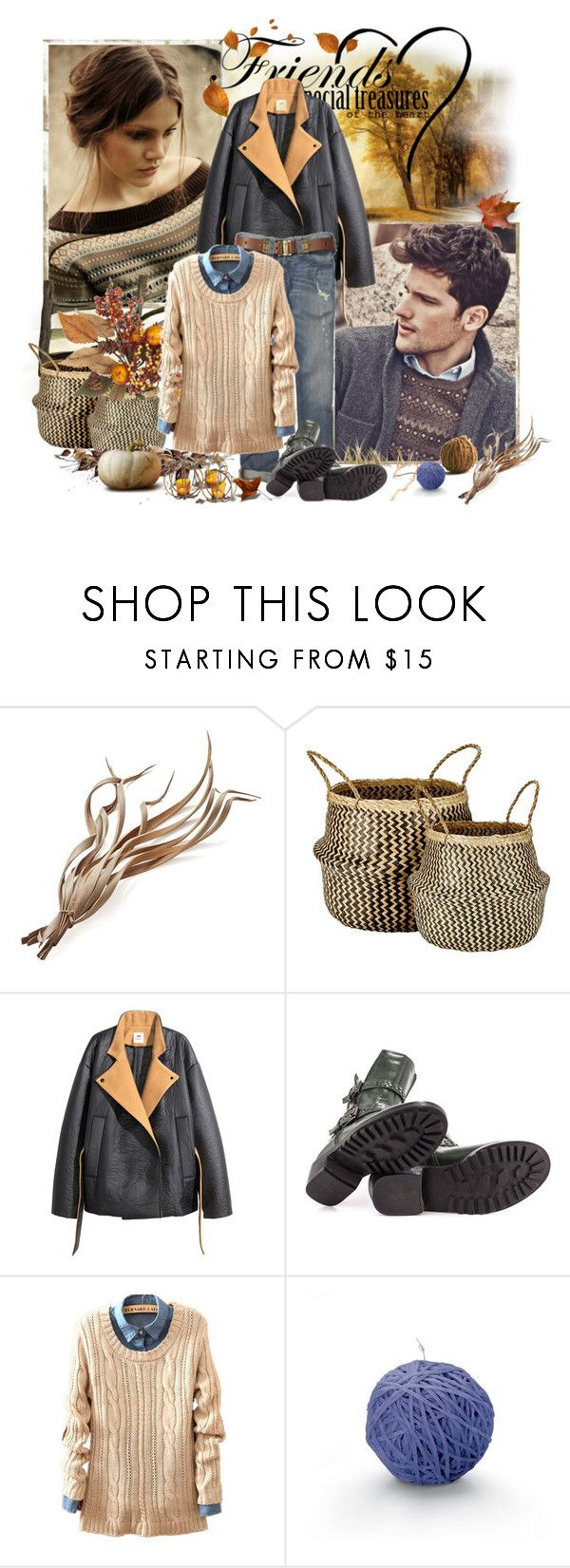 """мужчина и женщина"" by trendstar-212 ❤ liked on Polyvore featuring Crate and Barrel, Murmur, H&M, Penny Loves Kenny, Missoni Home and Pier 1 Imports"
