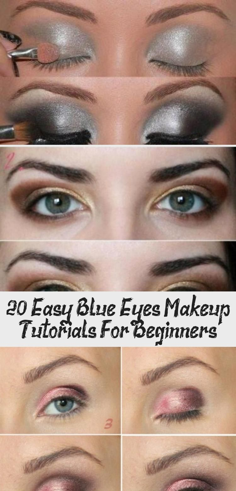 20 incredible makeup tutorials for blue eyes amazing step by