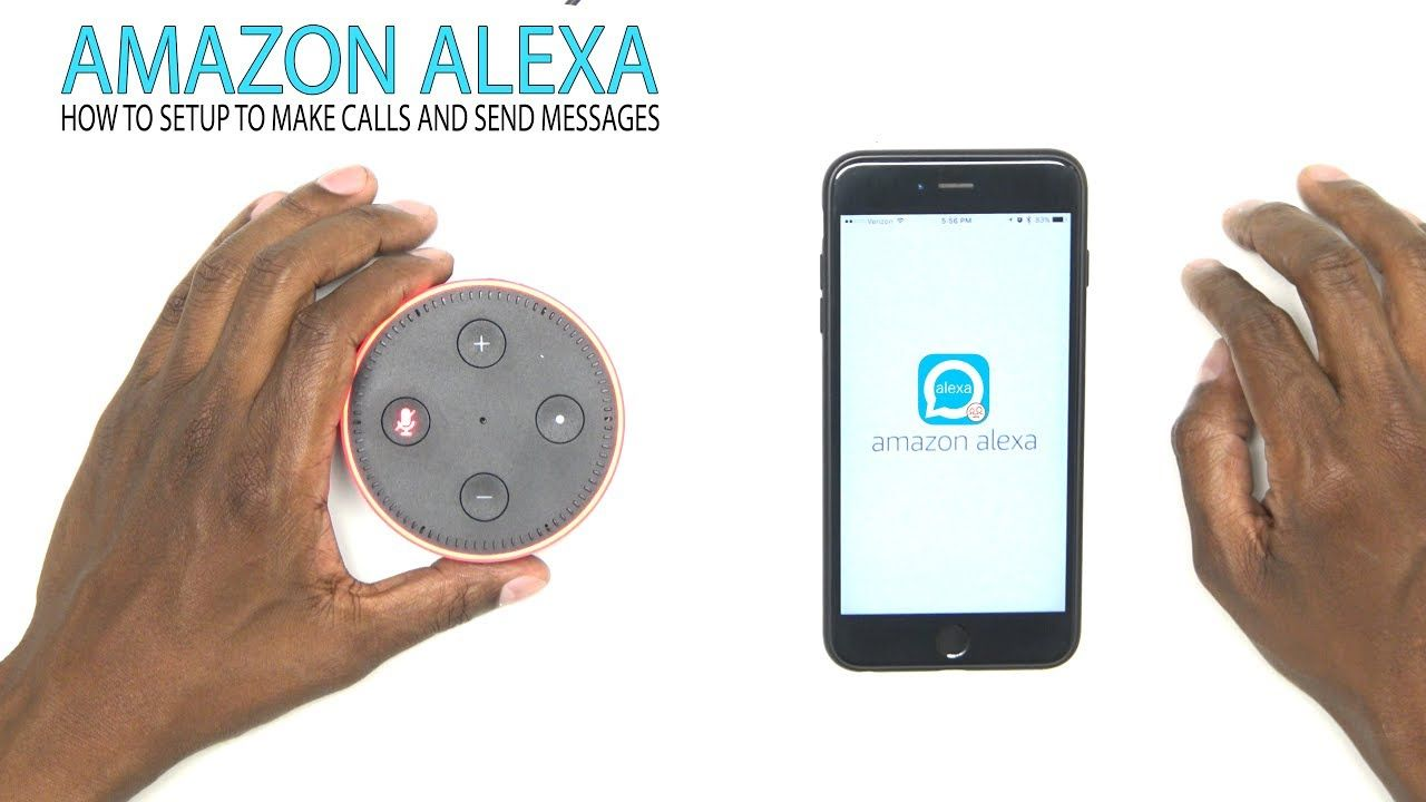 How to connect a cellphone to amazon alexa devices