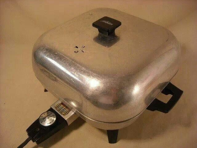My Mama Had An Electric Skillet Like This Only We Called
