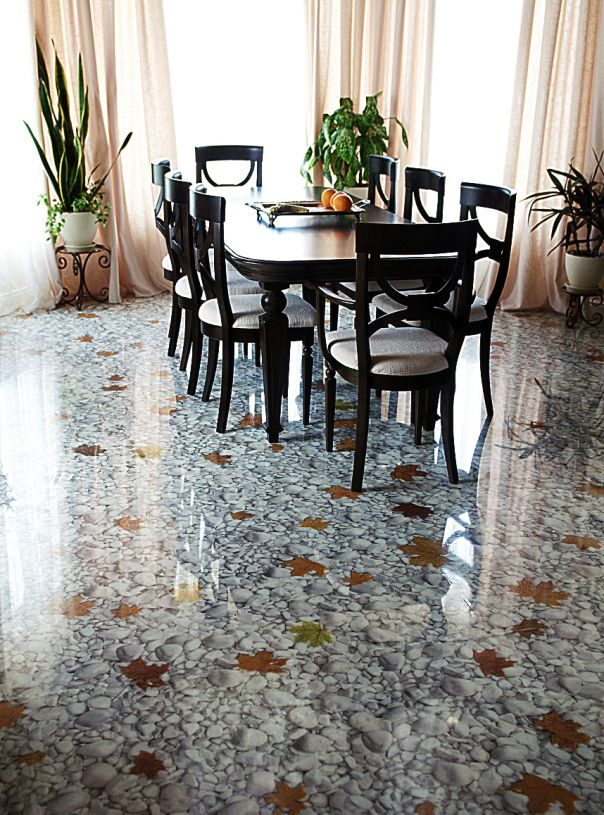 3D POLYMER PRINTED FLOORS Epoxy resin flooring, 3d