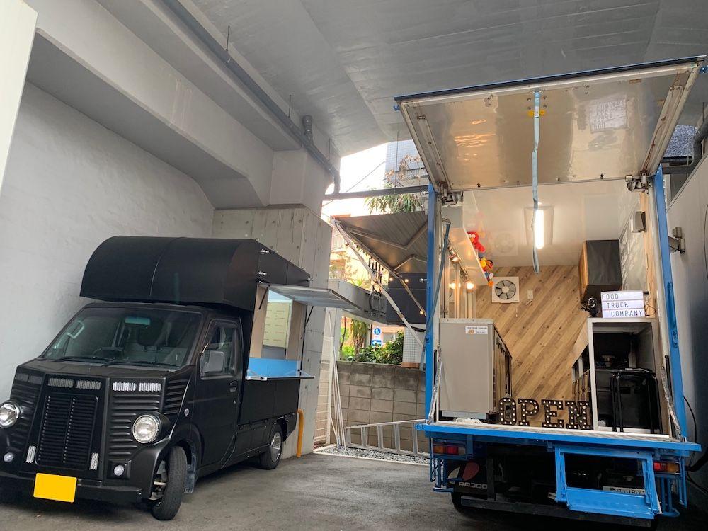キッチンカー 移動販売車 の製作 画像あり 移動販売車 移動