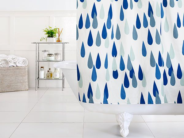 tub non set liner vinyl shower design fabric item technology digital graphic waterproof bath mildew curtains print curtain