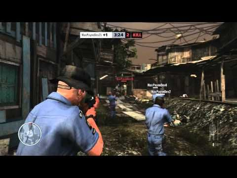 Max Payne 3 Multiplayer Gameplay Part 1 Max Payne 3 Max Payne