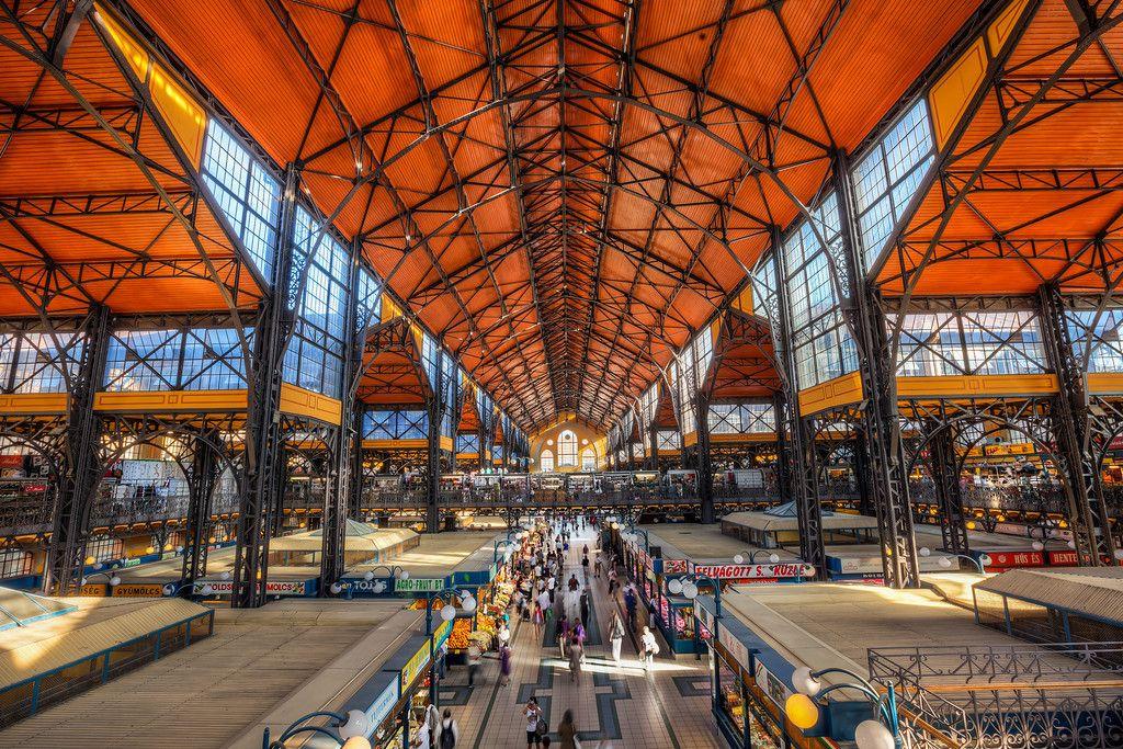 Bildresultat för budapest central market hall