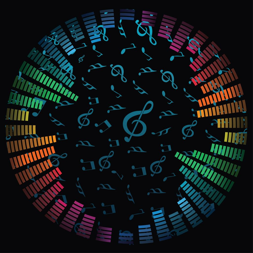 Awesome Rainbow Music Wallpapers
