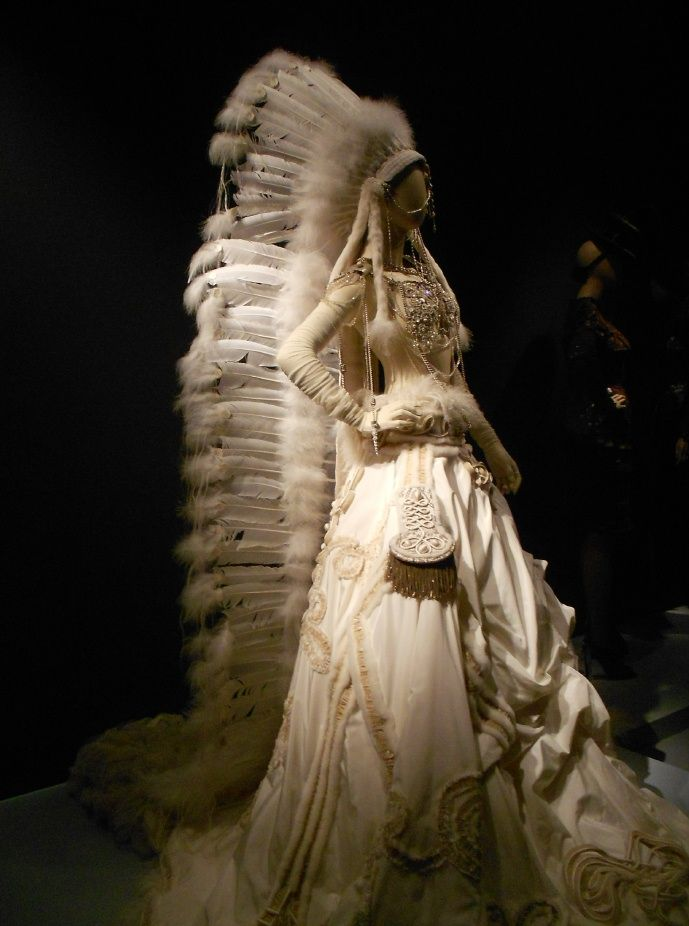 Native American Wedding Gowns  Faux Suit and Native
