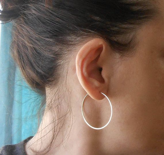 Small Gold Hoop Earrings 3 4 Inch To 1 Wire Hoops