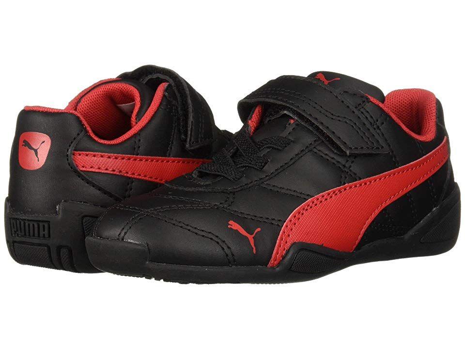 puma kids black shoes - 60% OFF