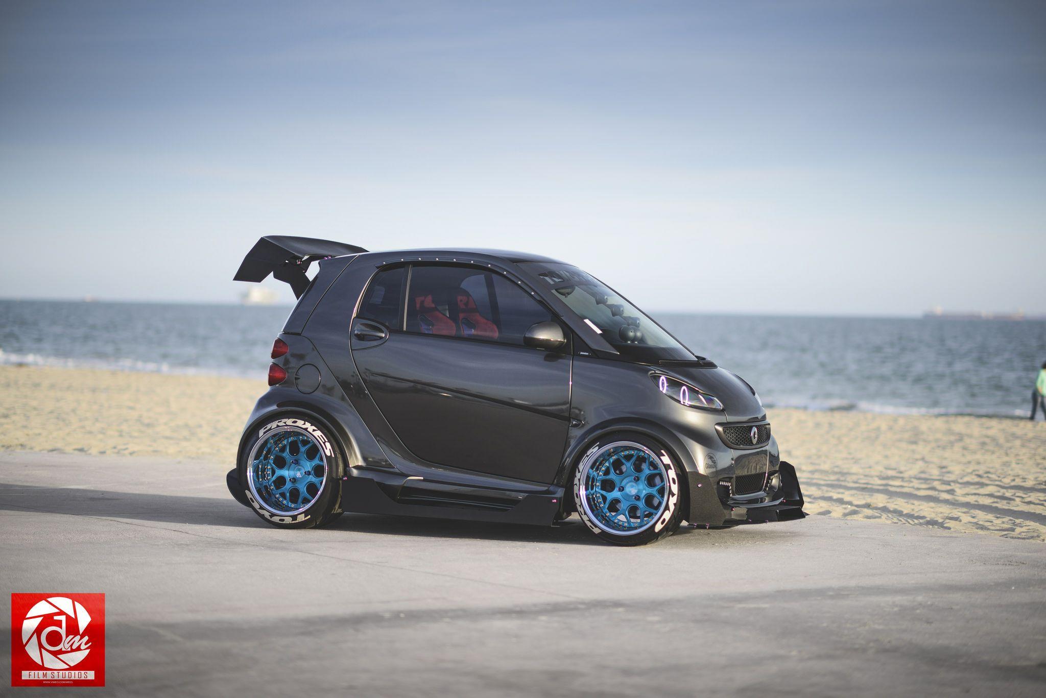 The Coolest Smart Car Smart Car Smart Fortwo Benz Smart