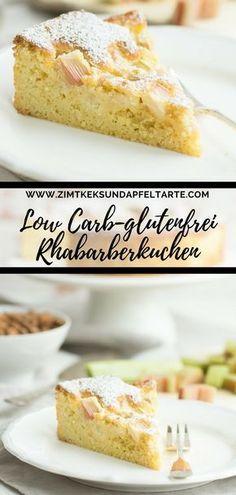 Low Carb Rhabarberkuchen Ganz Einfach Und Sehr Lecker Rezept