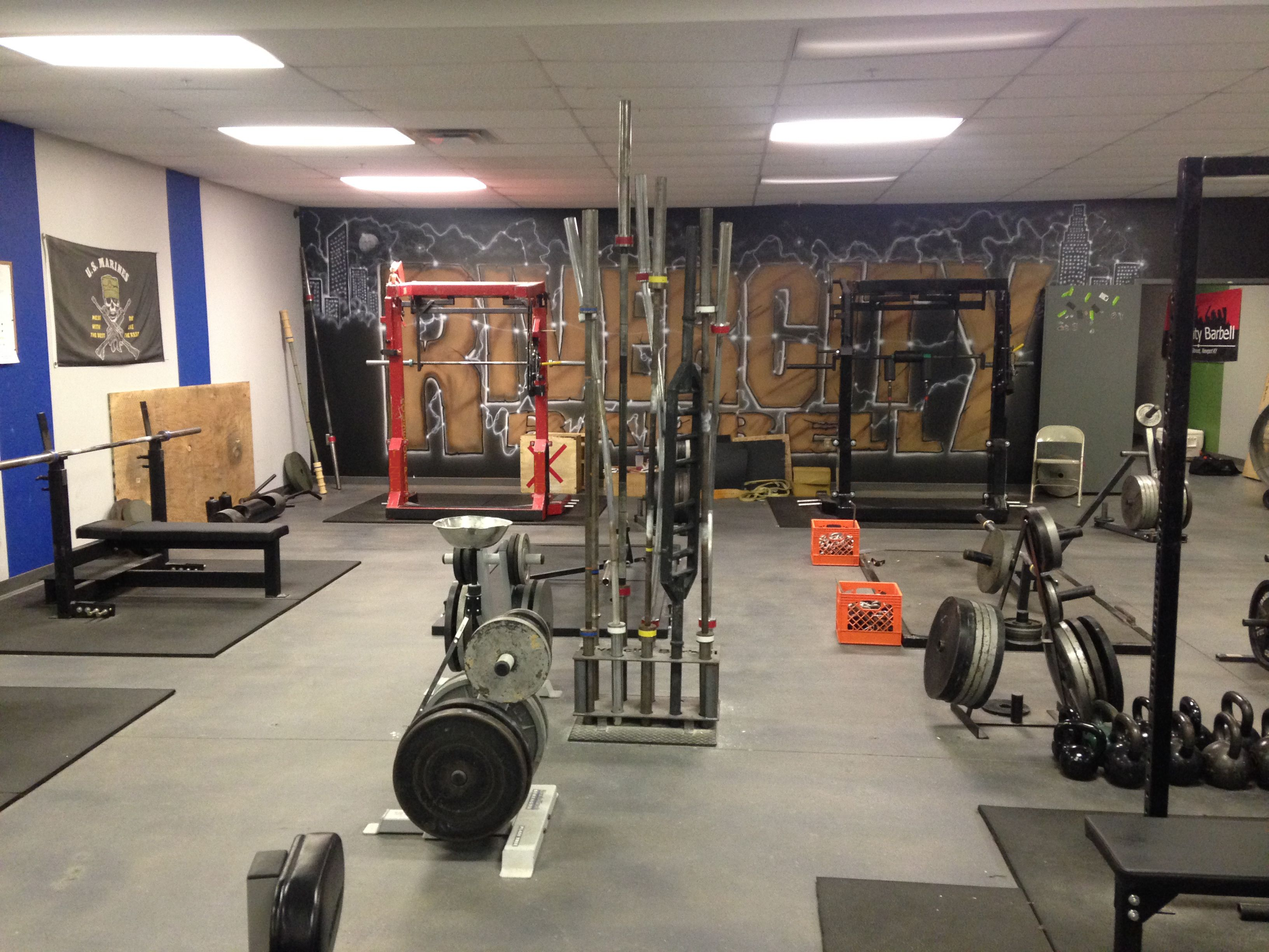 Home gym crypted molesting chambers powerlifting