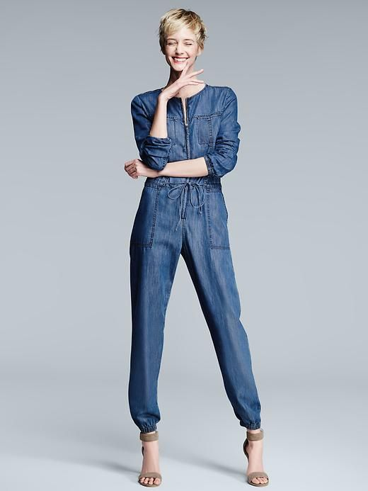 b8108fe10cf9 1969 Tencel® denim zip jumpsuit