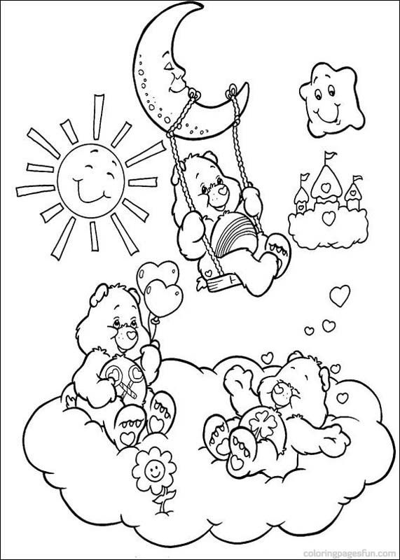 Care Bears Coloring Pages 48