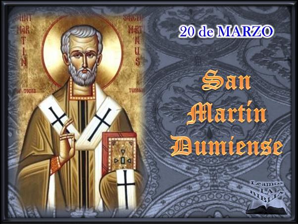 Leamos la BIBLIA: San Martín Dumiense