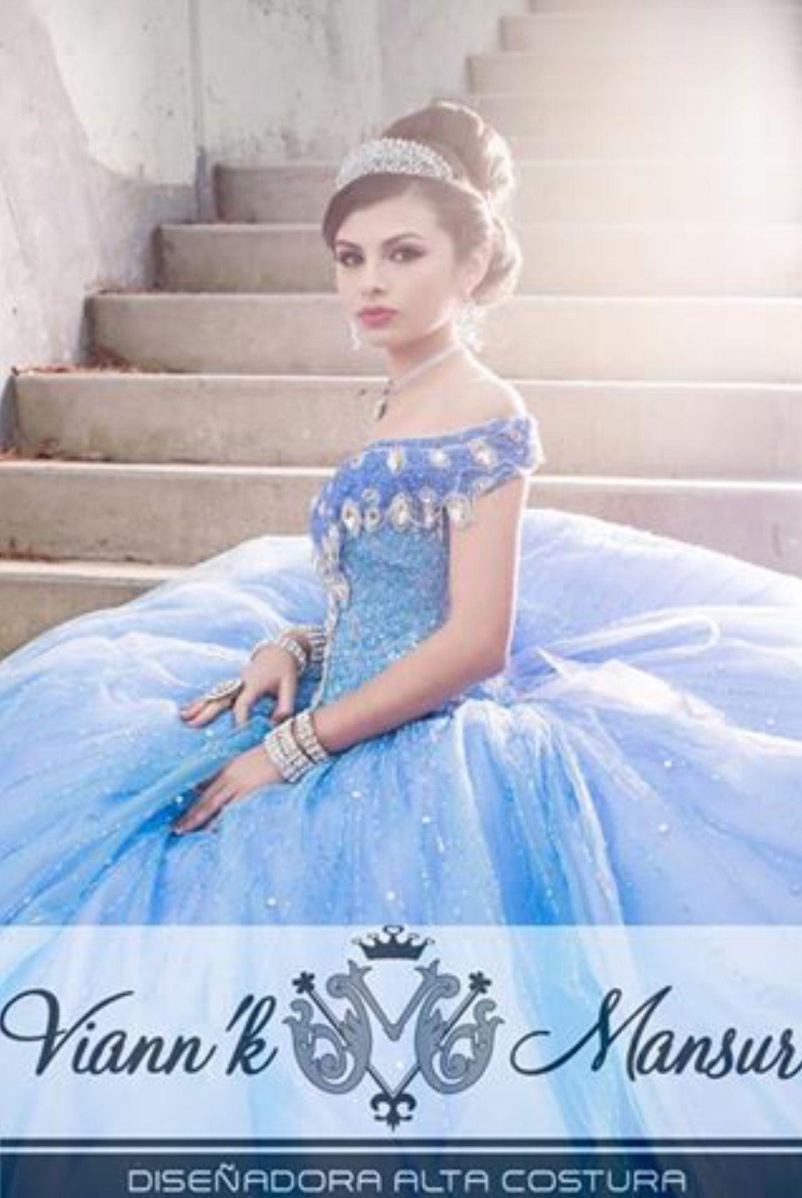 6c99295995 Viann K Mansur A Gorgeous Quinceañera Gown