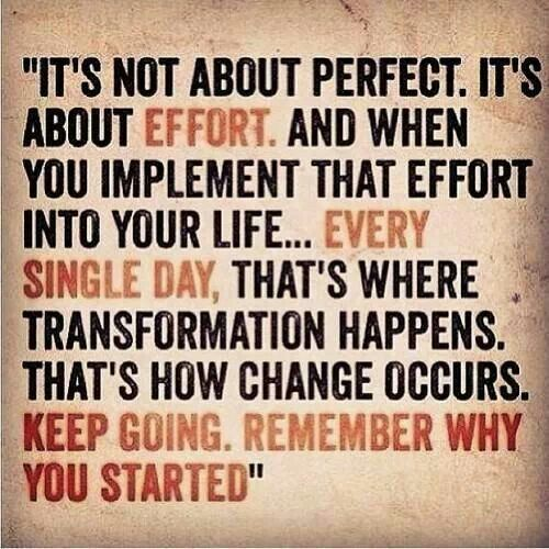 This applies to every aspect in everyones life... #LifestyleTransformation