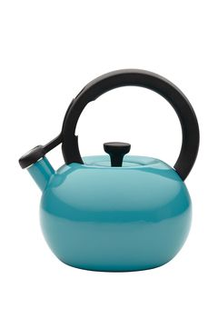 CIRCULON, Capri Turquoise 2-Qt. Circles Teakettle, $24.99 !!