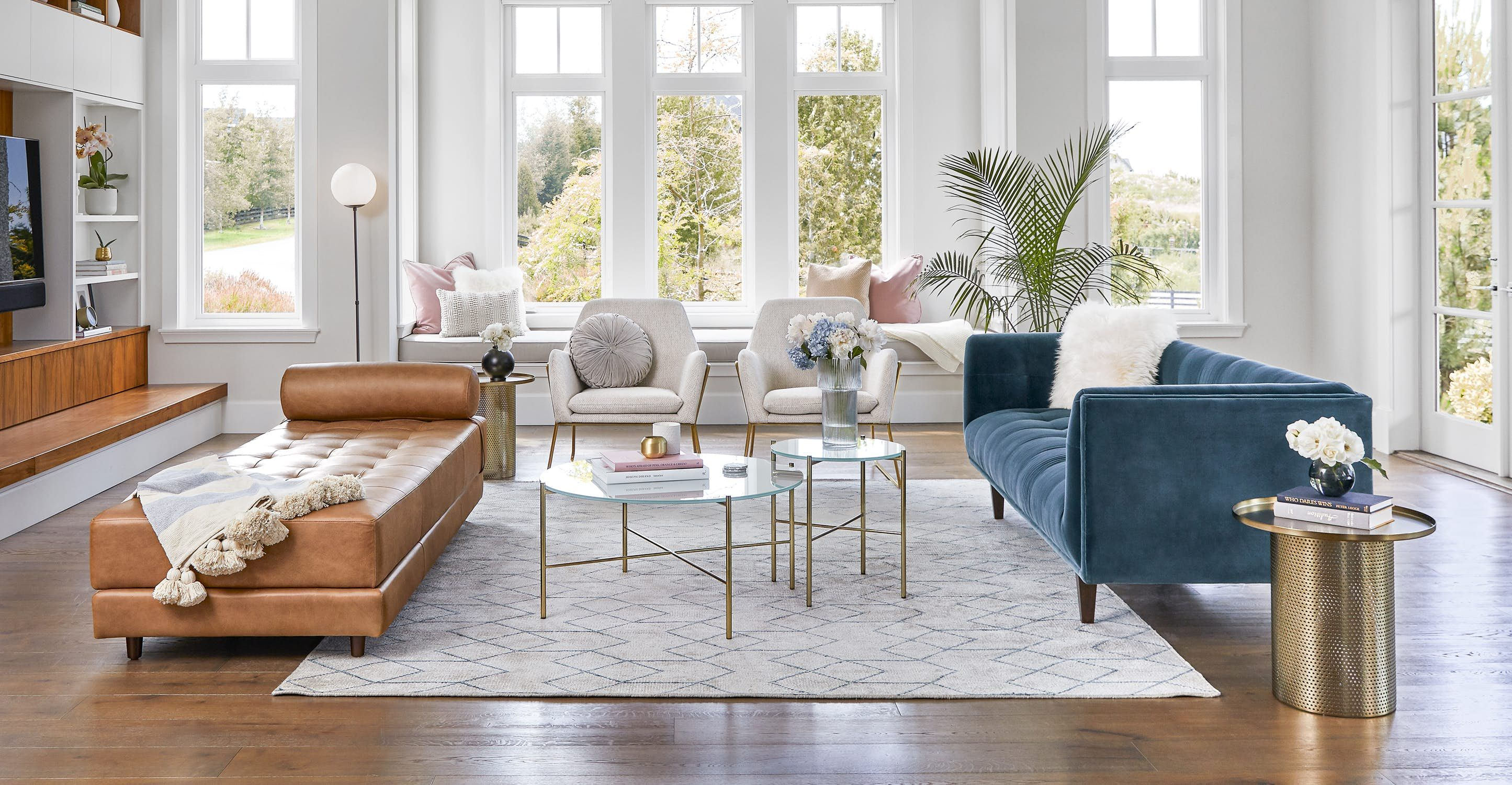 Sven Charme Tan Daybed White Rug Living Room Grey Side Table Rugs In Living Room #tan #rugs #for #living #room