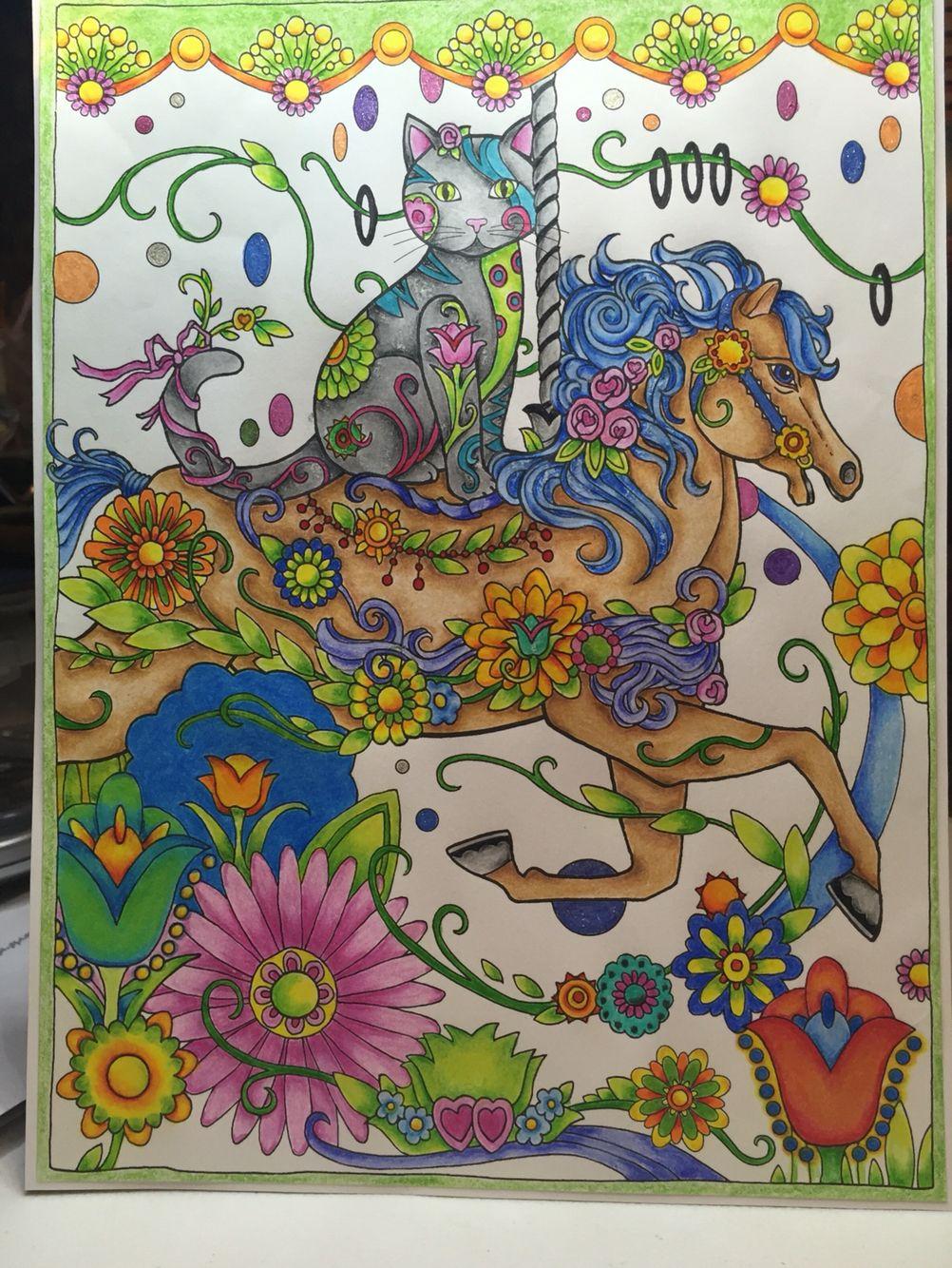 HORSING AROUND | Laminas | Pinterest | Gato, Laminas y Porcelana