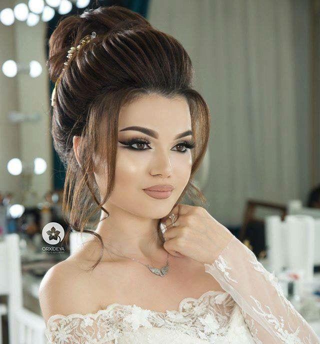 Marcia Blanco Adli Kullanicinin Wedding Makeup Panosundaki Pin Gelin Sac Modelleri Dugun Sac Modelleri Guzellik Urunleri
