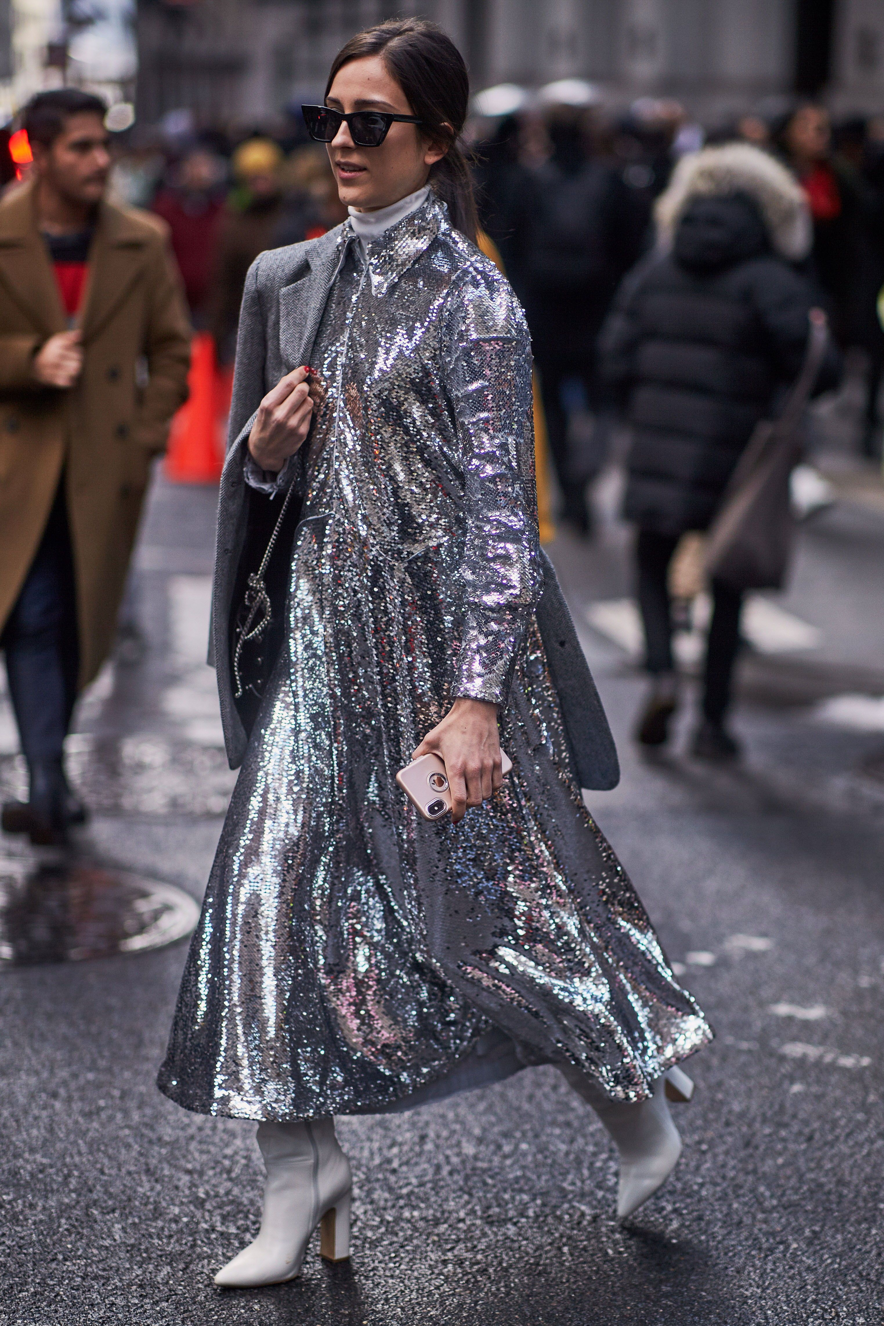 During New York a w 2019 #style #streetstyle #fashion
