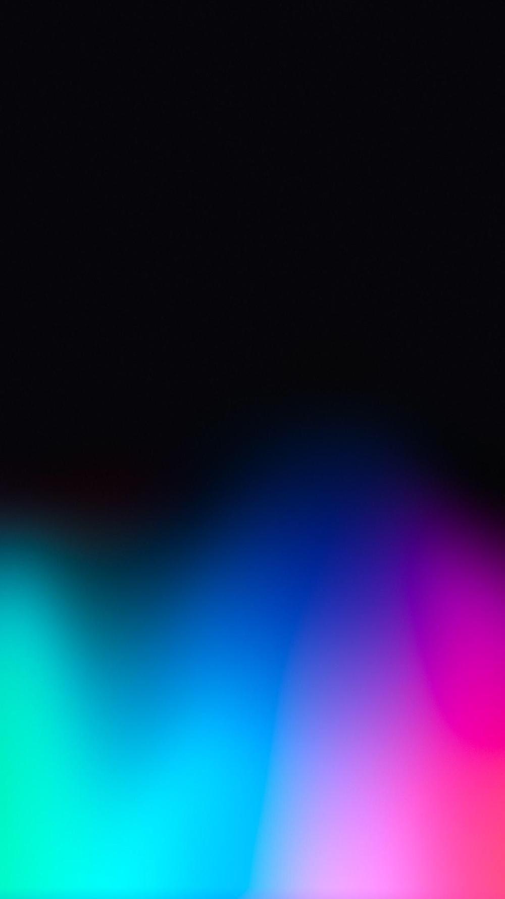 Dark Rainbow Wallpaper Apple Iphone X In 2020 Ombre