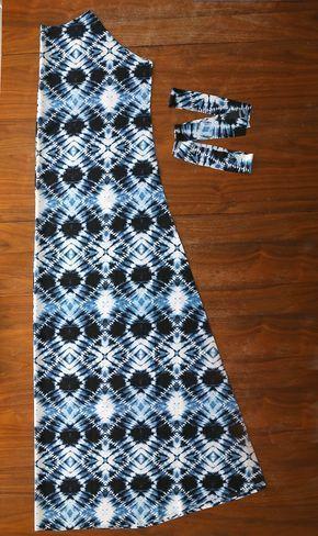 Wie man ein einfaches Kleid macht (billig!)  #billig #einfaches #kleid #macht #maxidress