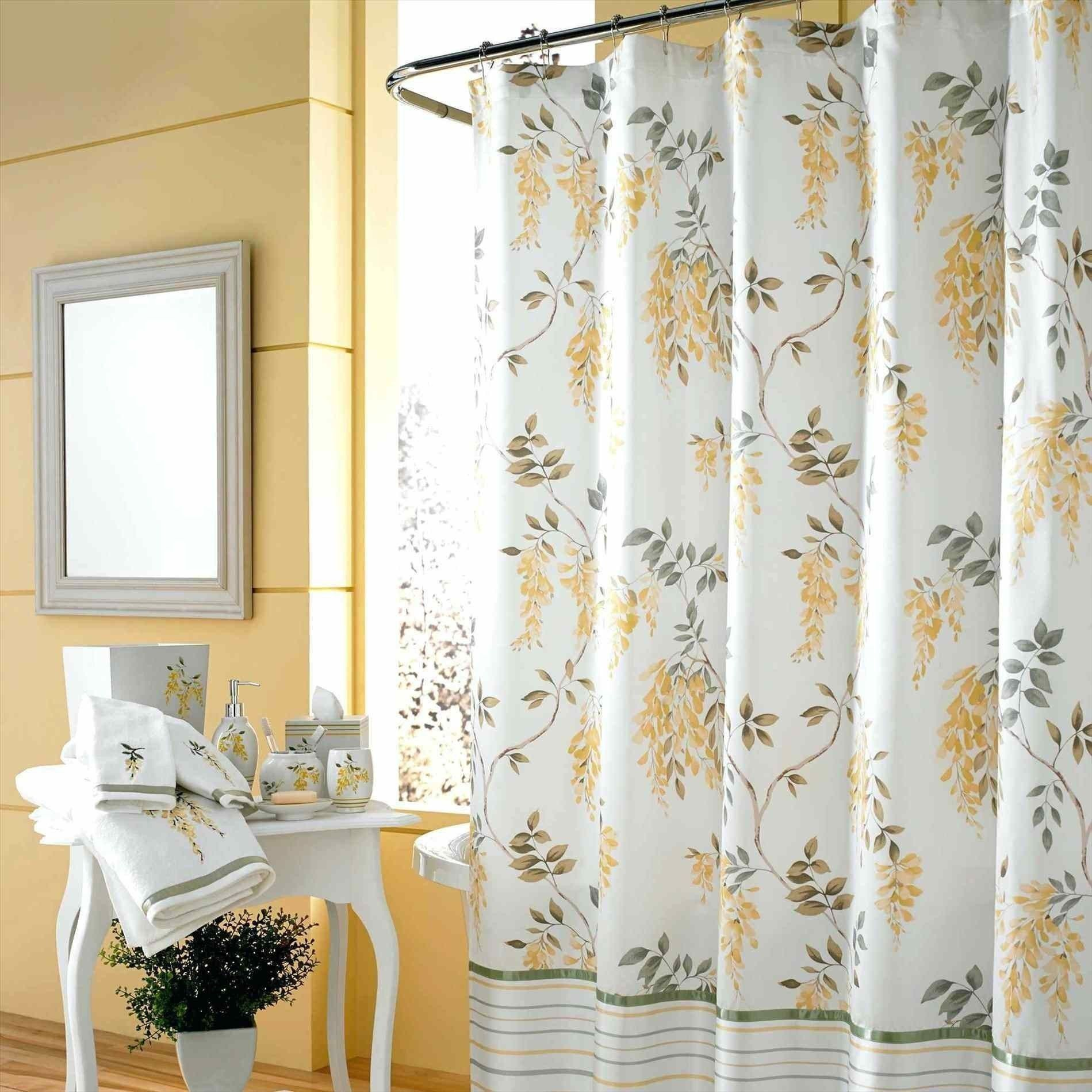 Best Of Double Swag Shower Curtain Set